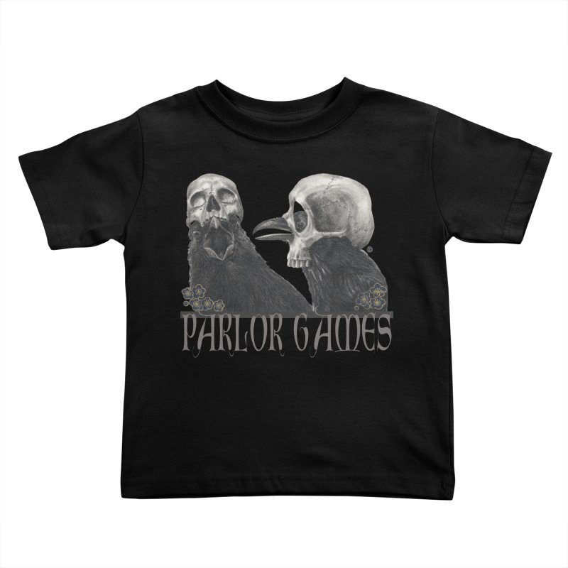 Parlor Games Kids Toddler T-Shirt by Stephanie Inagaki