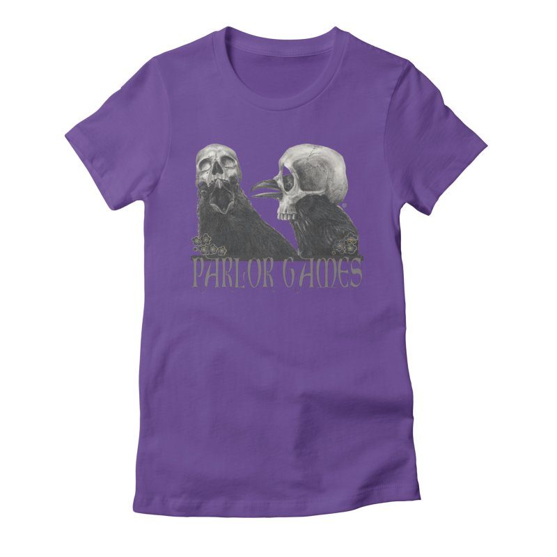 Parlor Games Women's Fitted T-Shirt by Stephanie Inagaki