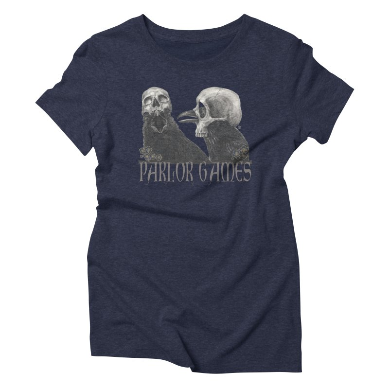 Parlor Games Women's Triblend T-Shirt by stephanieinagaki's Artist Shop