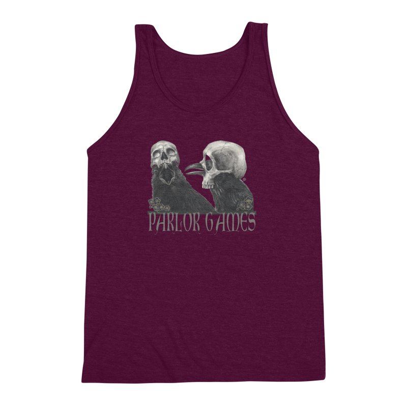 Parlor Games Men's Triblend Tank by Stephanie Inagaki