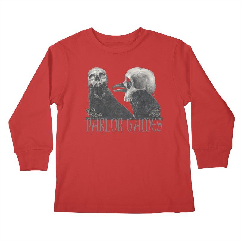 Parlor Games Kids Longsleeve T-Shirt by stephanieinagaki's Artist Shop