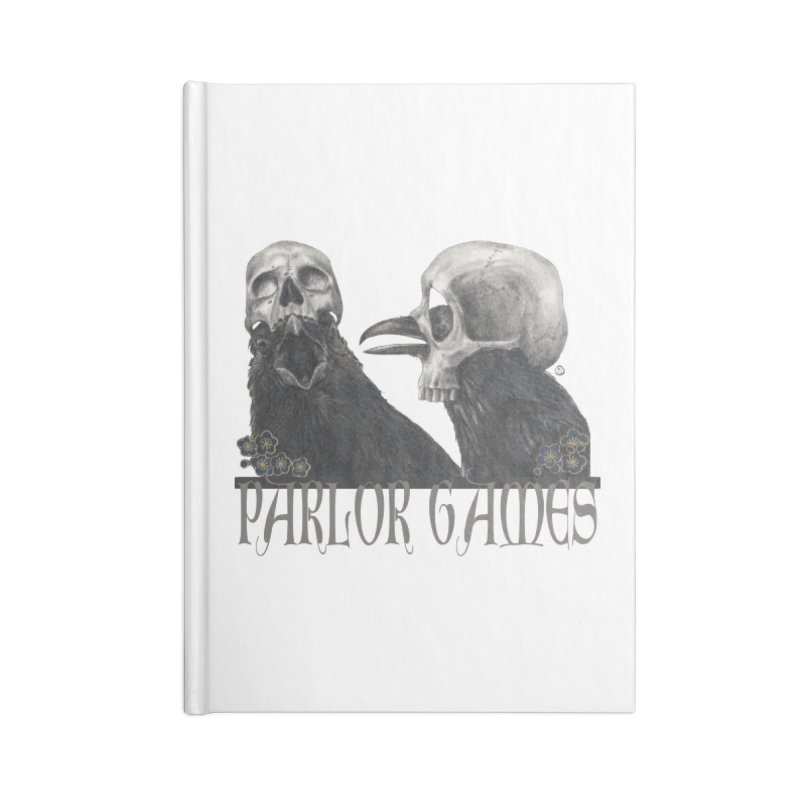 Parlor Games Accessories Blank Journal Notebook by Stephanie Inagaki