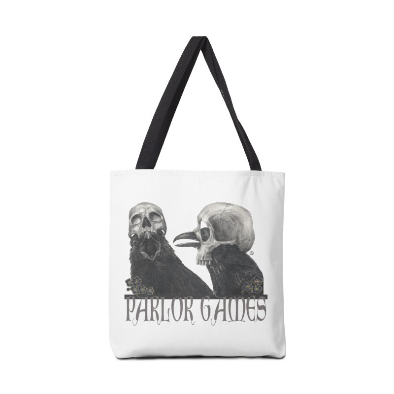 Parlor Games Accessories Tote Bag Bag by Stephanie Inagaki