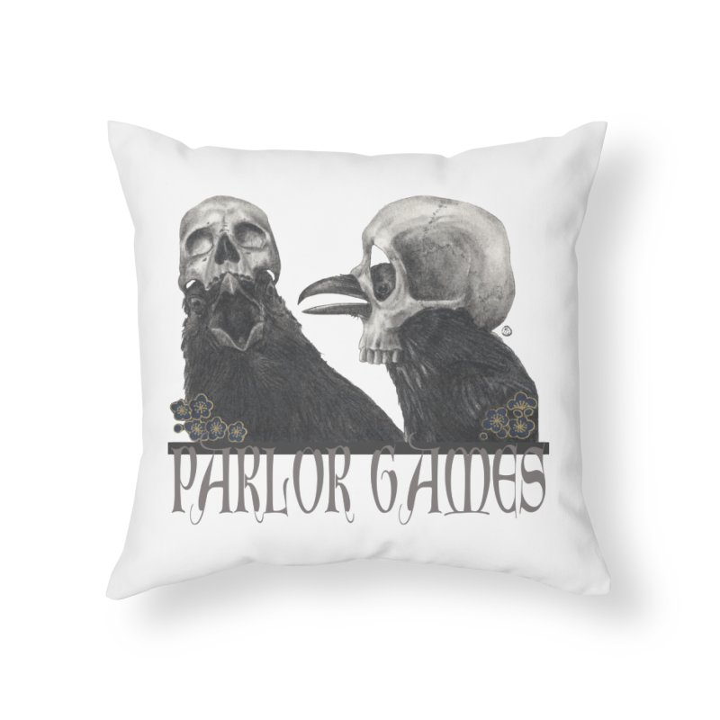 Parlor Games Home Throw Pillow by Stephanie Inagaki