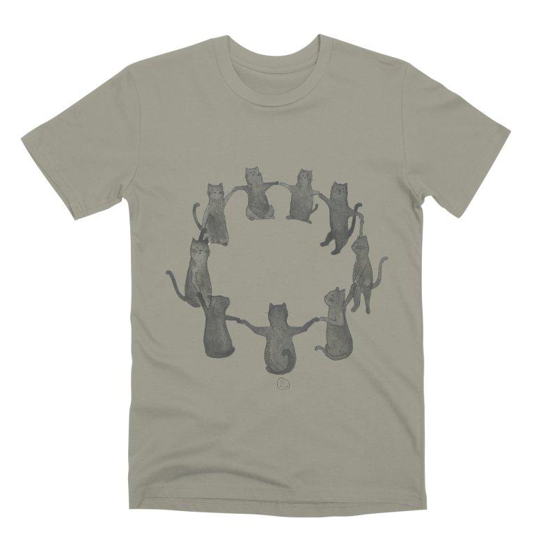 Kitty Coven Men's Premium T-Shirt by Stephanie Inagaki