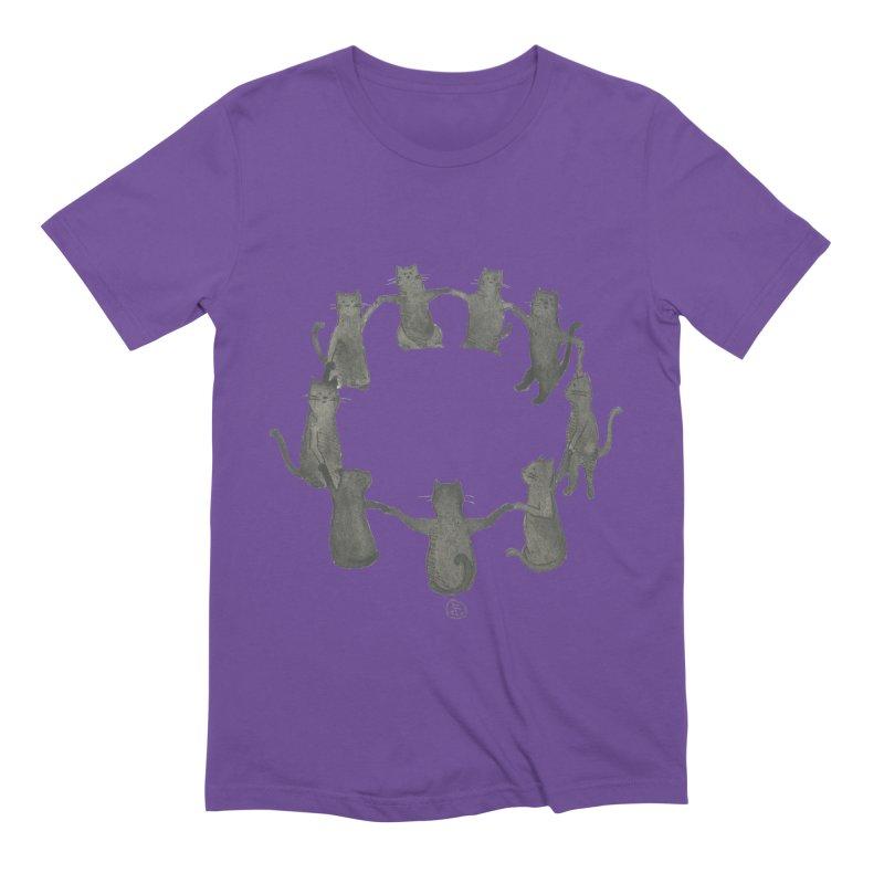 Kitty Coven Men's Extra Soft T-Shirt by Stephanie Inagaki