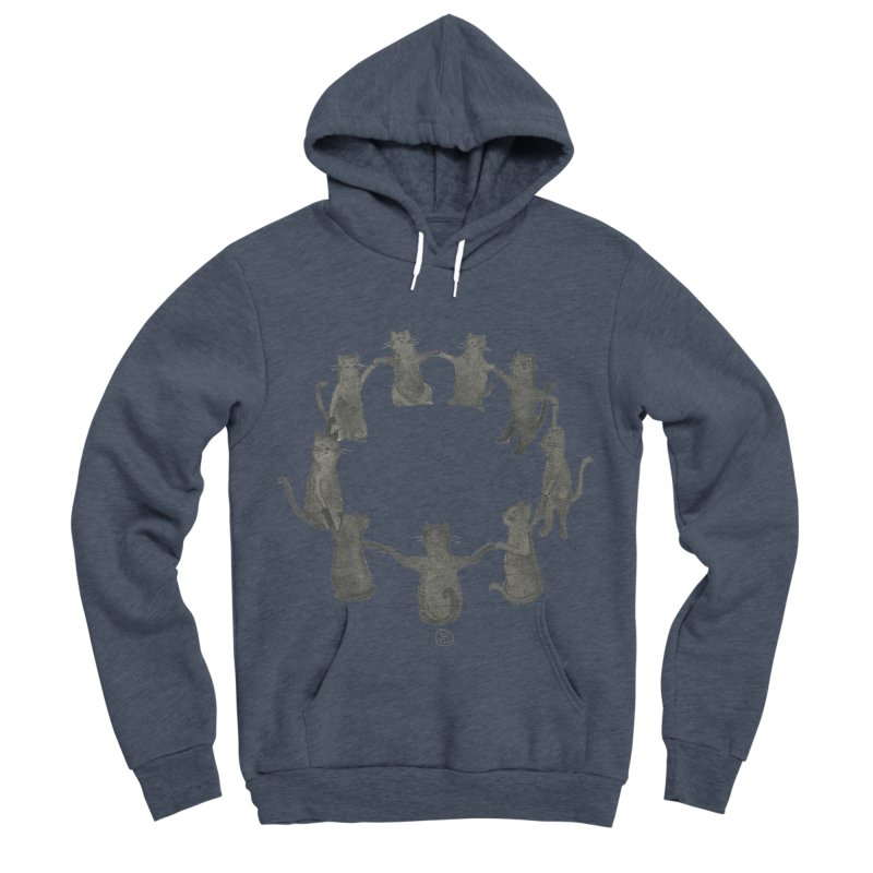 Kitty Coven Women's Sponge Fleece Pullover Hoody by Stephanie Inagaki