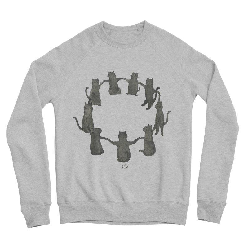 Kitty Coven Men's Sponge Fleece Sweatshirt by stephanieinagaki's Artist Shop