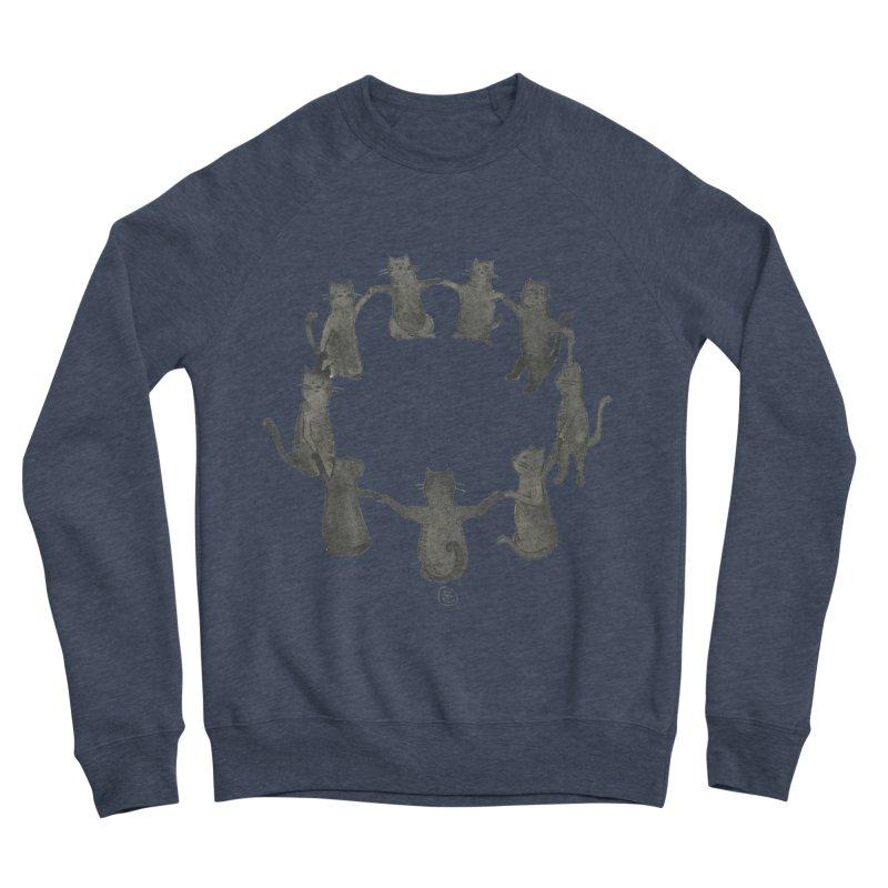 Kitty Coven Men's Sponge Fleece Sweatshirt by Stephanie Inagaki