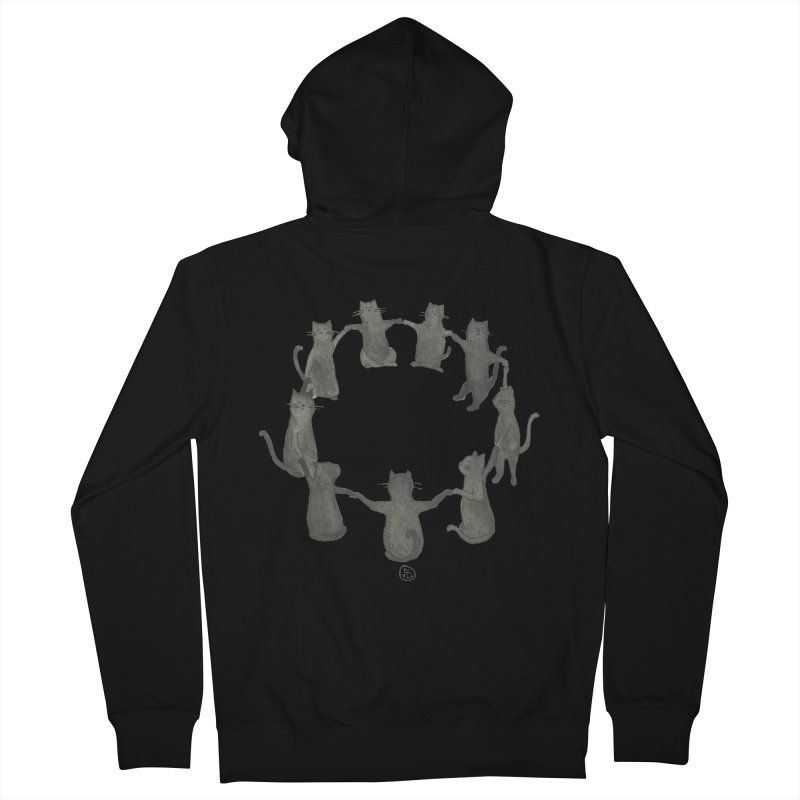 Kitty Coven Women's French Terry Zip-Up Hoody by Stephanie Inagaki