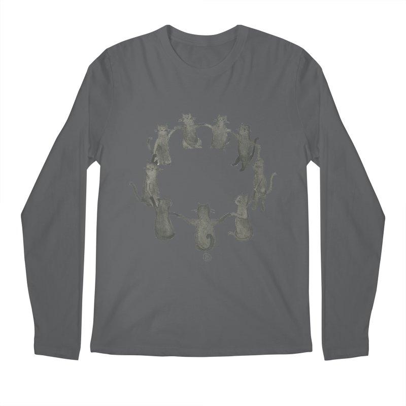 Kitty Coven Men's Regular Longsleeve T-Shirt by Stephanie Inagaki