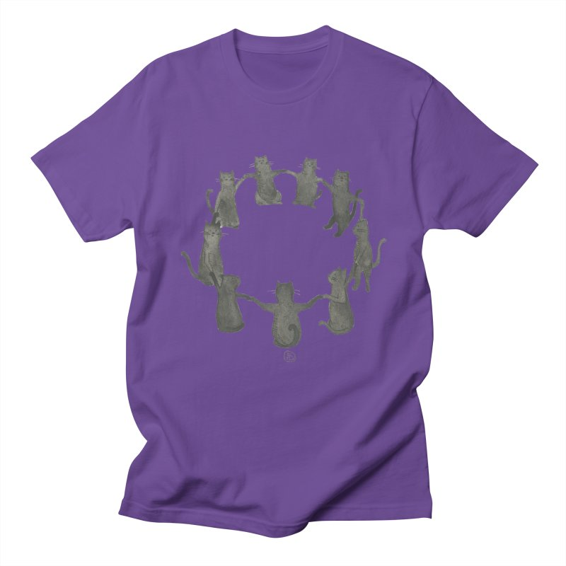 Kitty Coven Men's Regular T-Shirt by Stephanie Inagaki