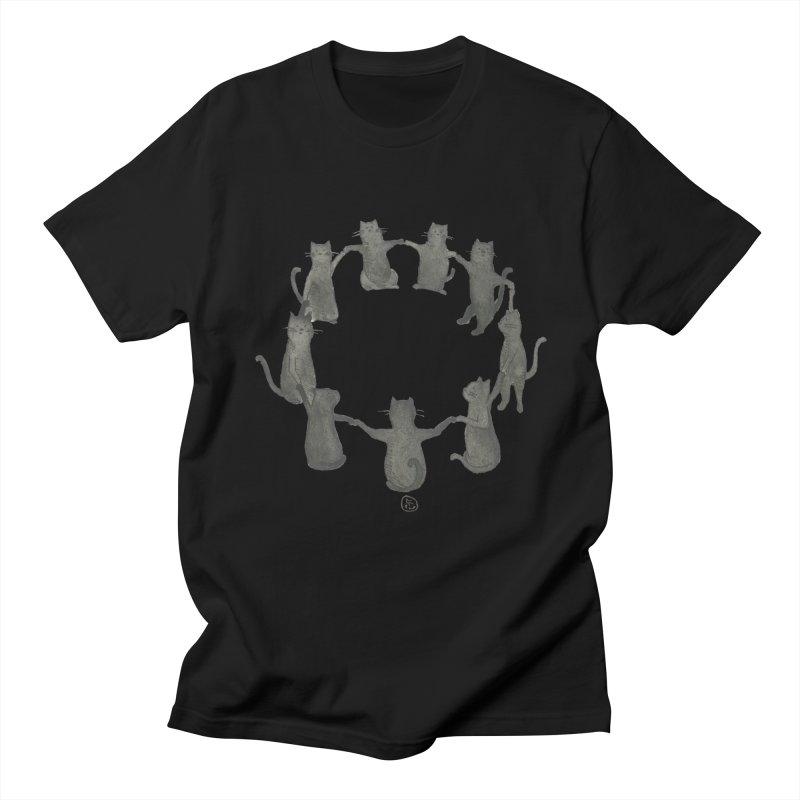Kitty Coven Women's Regular Unisex T-Shirt by Stephanie Inagaki