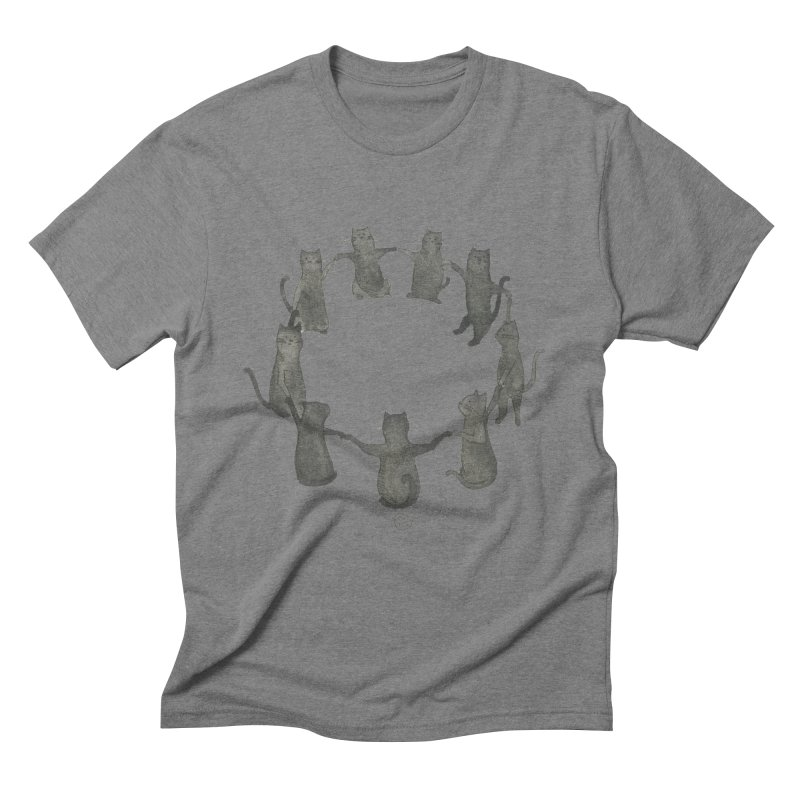 Kitty Coven Men's Triblend T-Shirt by stephanieinagaki's Artist Shop