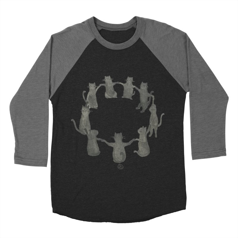 Kitty Coven Women's Baseball Triblend Longsleeve T-Shirt by stephanieinagaki's Artist Shop