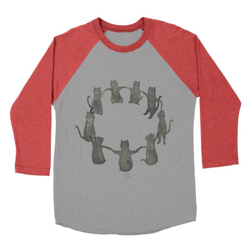 Kitty Coven Men's Baseball Triblend Longsleeve T-Shirt by stephanieinagaki's Artist Shop