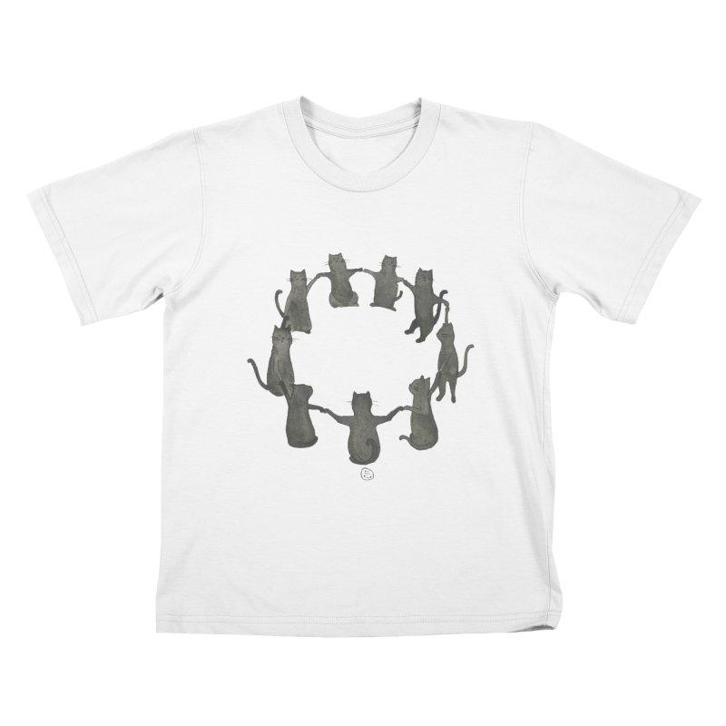 Kitty Coven Kids T-Shirt by Stephanie Inagaki