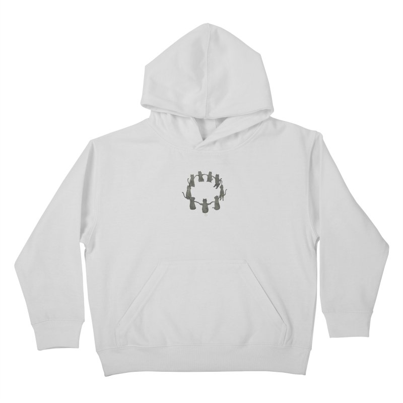 Kitty Coven Kids Pullover Hoody by Stephanie Inagaki