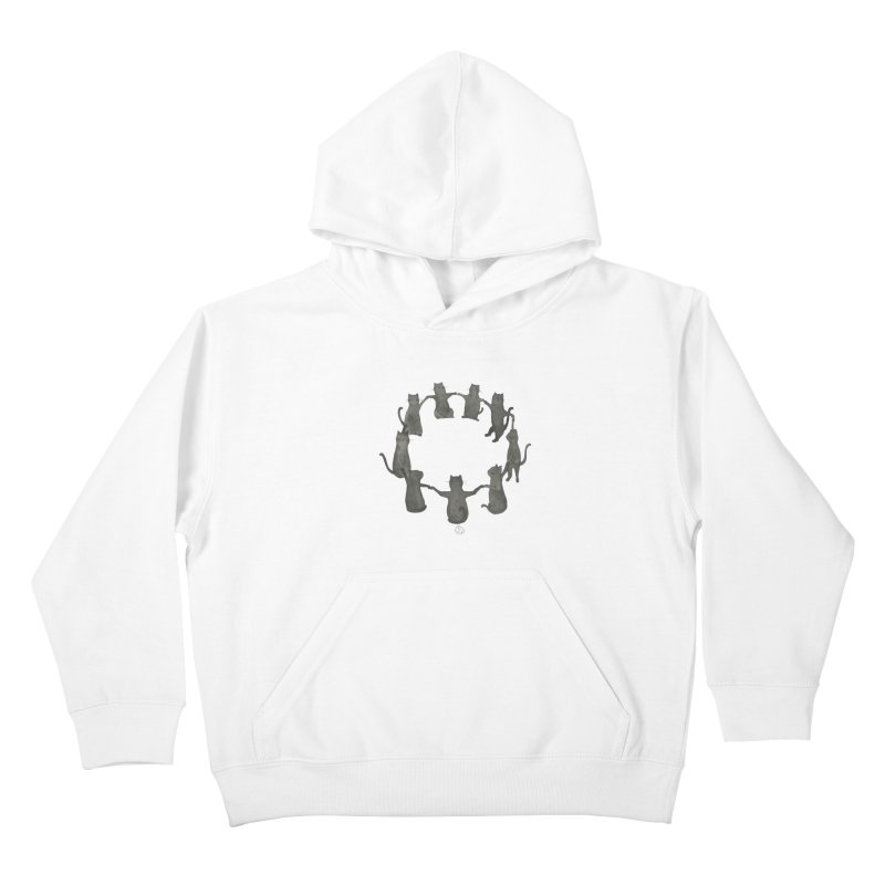 Kitty Coven Kids Pullover Hoody by stephanieinagaki's Artist Shop