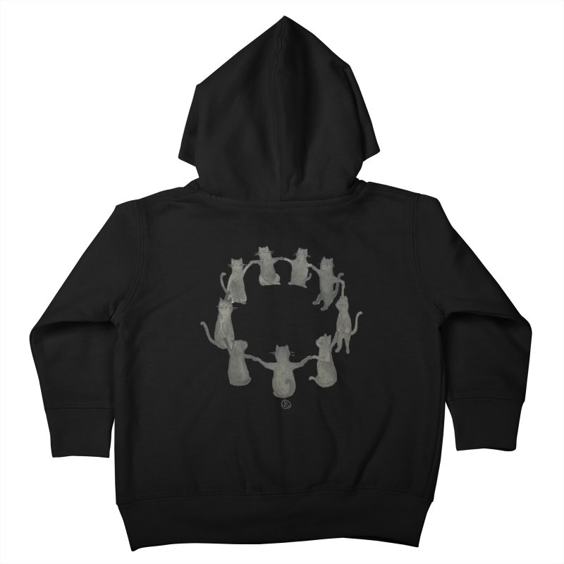 Kitty Coven Kids Toddler Zip-Up Hoody by Stephanie Inagaki