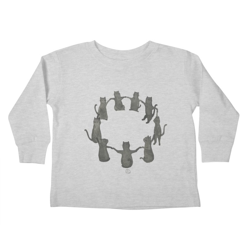 Kitty Coven Kids Toddler Longsleeve T-Shirt by stephanieinagaki's Artist Shop