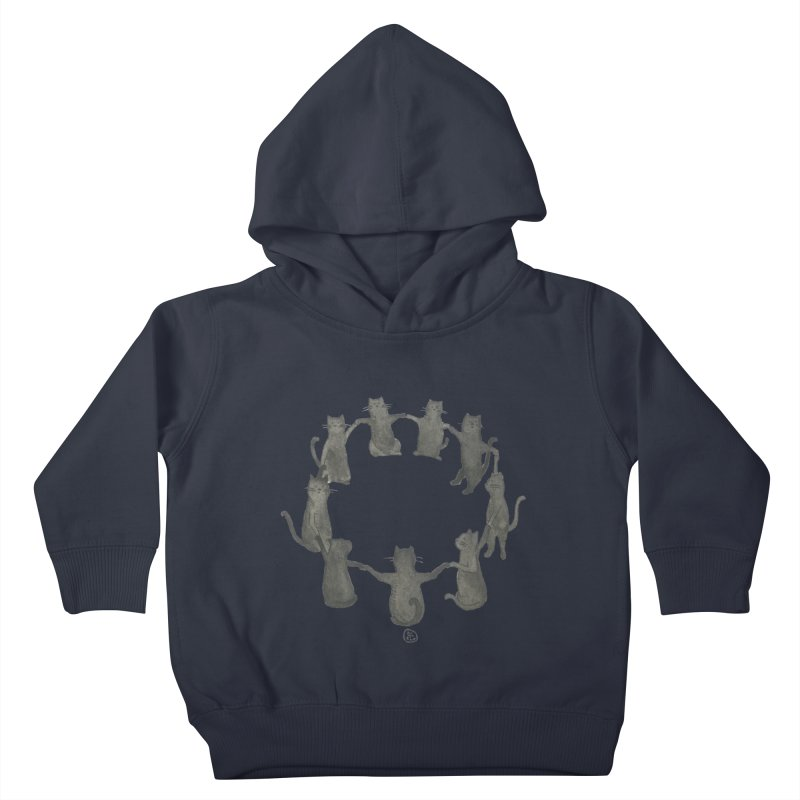 Kitty Coven Kids Toddler Pullover Hoody by Stephanie Inagaki