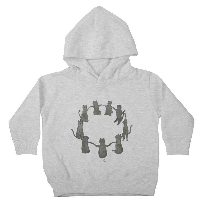 Kitty Coven Kids Toddler Pullover Hoody by stephanieinagaki's Artist Shop