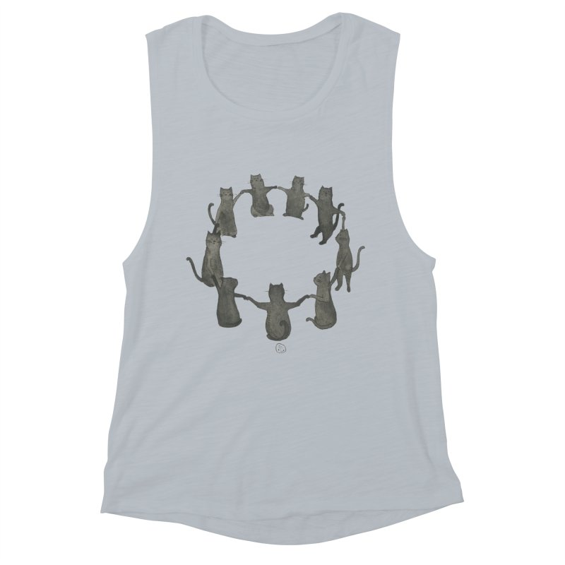 Kitty Coven Women's Muscle Tank by Stephanie Inagaki