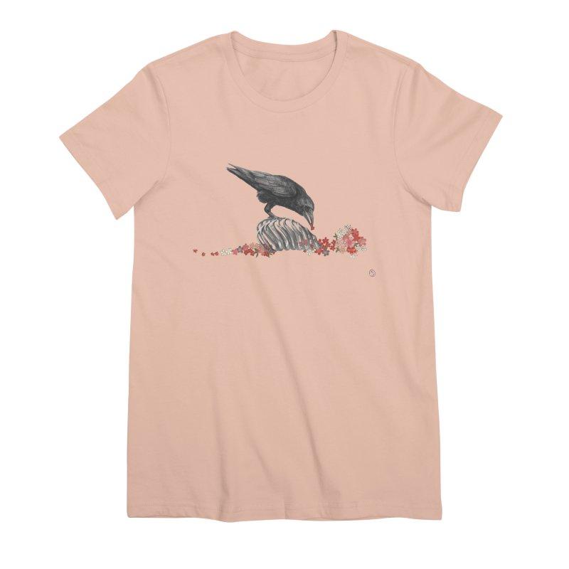 The Bloodflower Crossroads Women's Premium T-Shirt by Stephanie Inagaki