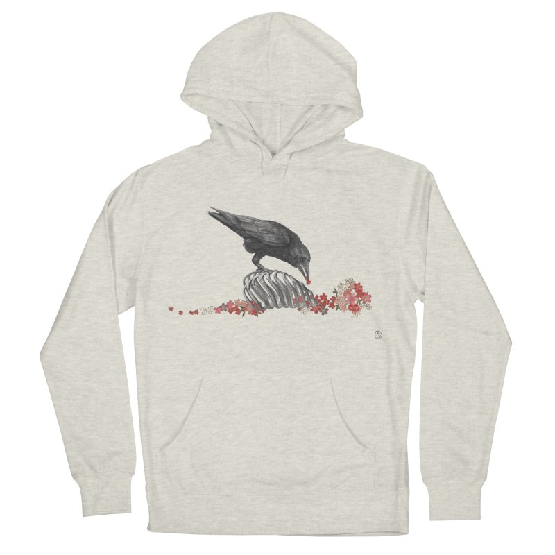 The Bloodflower Crossroads Women's French Terry Pullover Hoody by Stephanie Inagaki