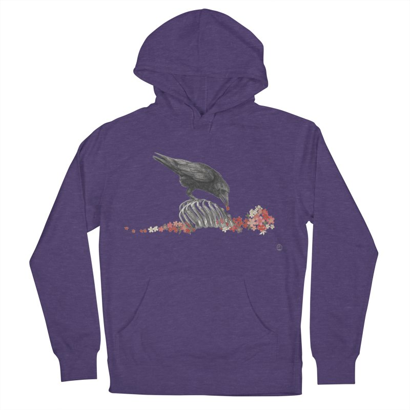 The Bloodflower Crossroads Men's French Terry Pullover Hoody by Stephanie Inagaki