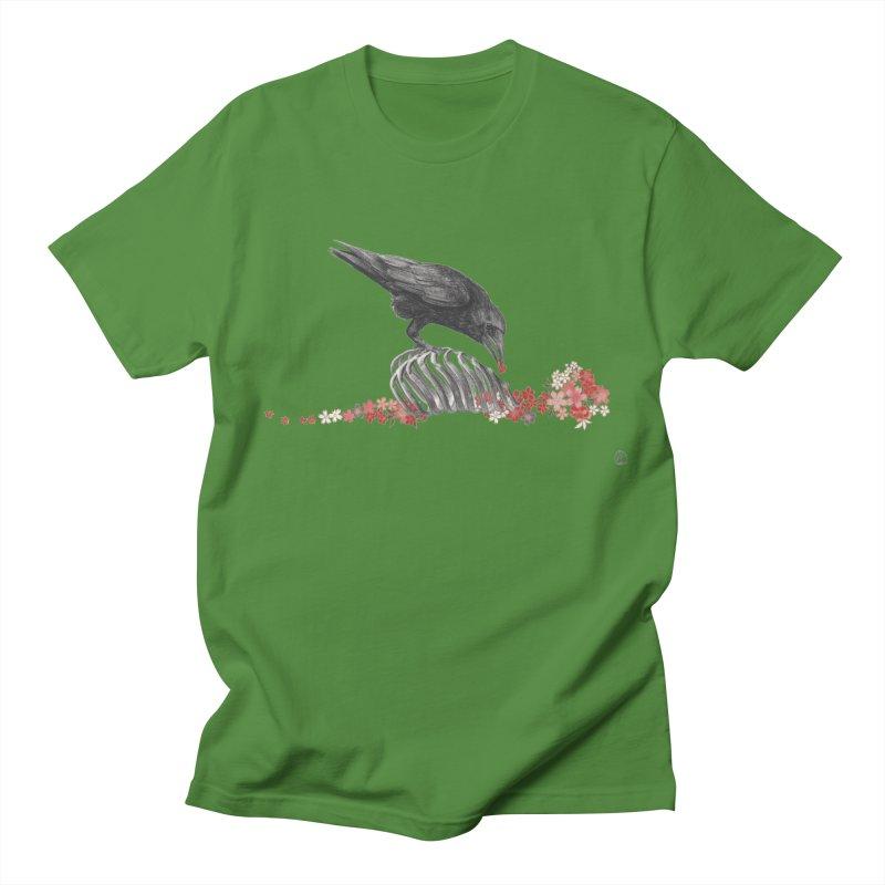 The Bloodflower Crossroads Men's Regular T-Shirt by Stephanie Inagaki
