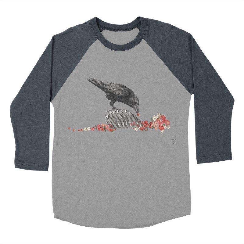 The Bloodflower Crossroads Women's Baseball Triblend Longsleeve T-Shirt by Stephanie Inagaki