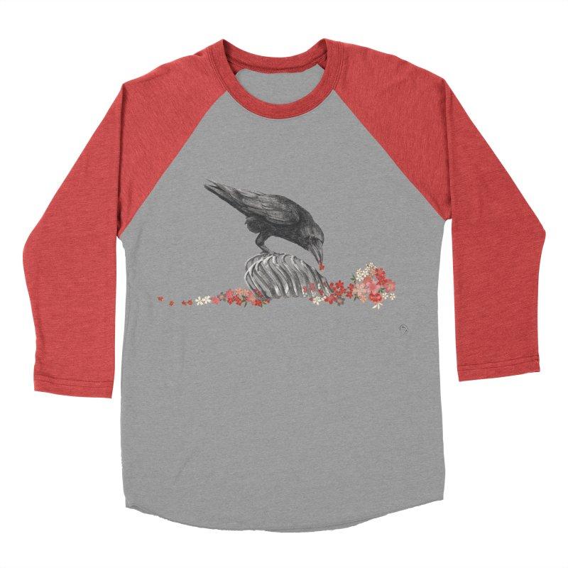 The Bloodflower Crossroads Men's Baseball Triblend Longsleeve T-Shirt by stephanieinagaki's Artist Shop