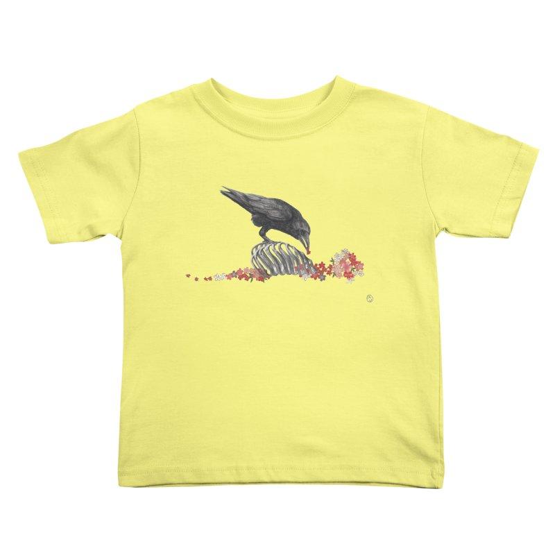 The Bloodflower Crossroads Kids Toddler T-Shirt by stephanieinagaki's Artist Shop