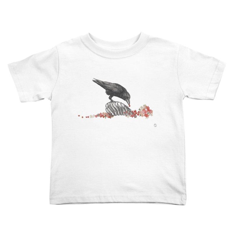 The Bloodflower Crossroads Kids Toddler T-Shirt by Stephanie Inagaki