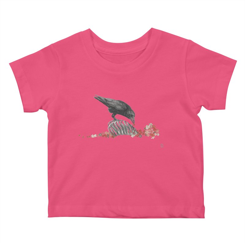 The Bloodflower Crossroads Kids Baby T-Shirt by stephanieinagaki's Artist Shop