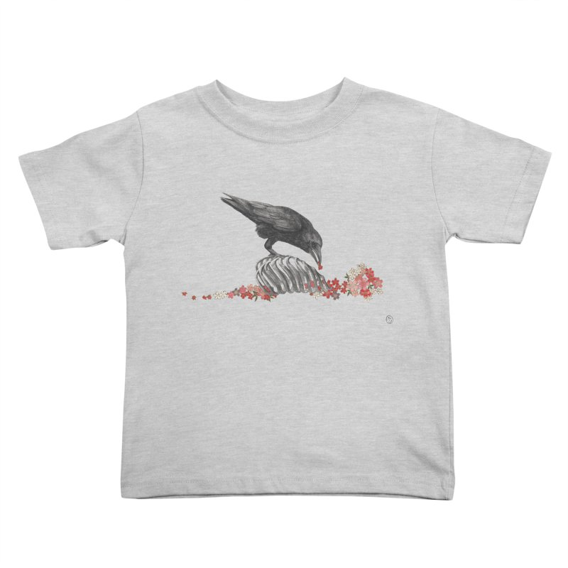 The Bloodflower Crossroads Kids Toddler T-Shirt by Stephanie Inagaki