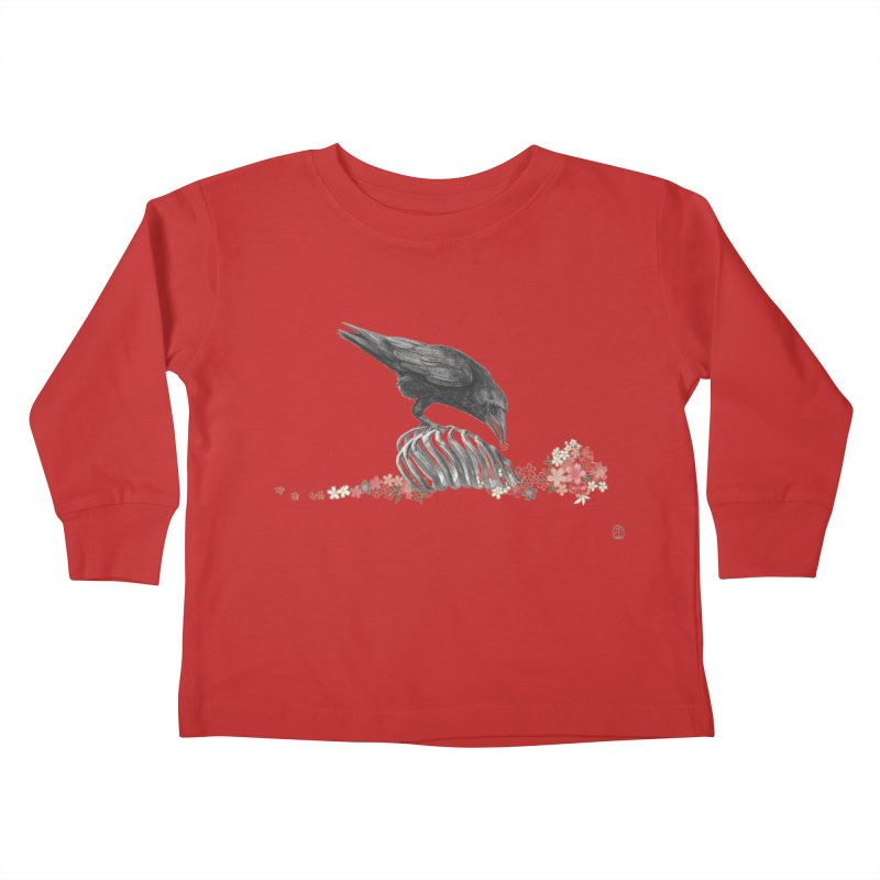 The Bloodflower Crossroads Kids Toddler Longsleeve T-Shirt by stephanieinagaki's Artist Shop