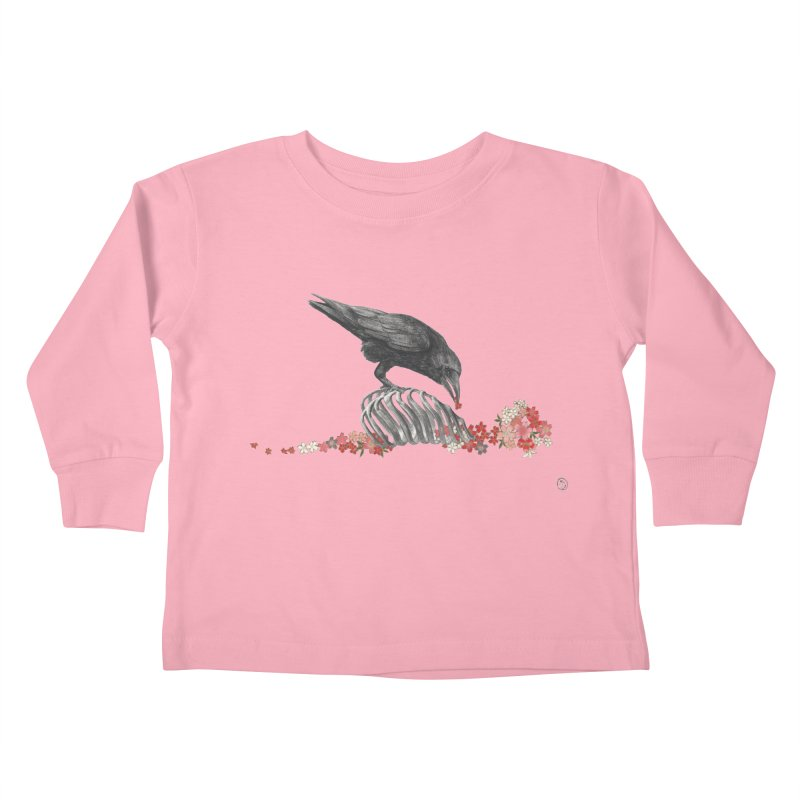 The Bloodflower Crossroads Kids Toddler Longsleeve T-Shirt by Stephanie Inagaki