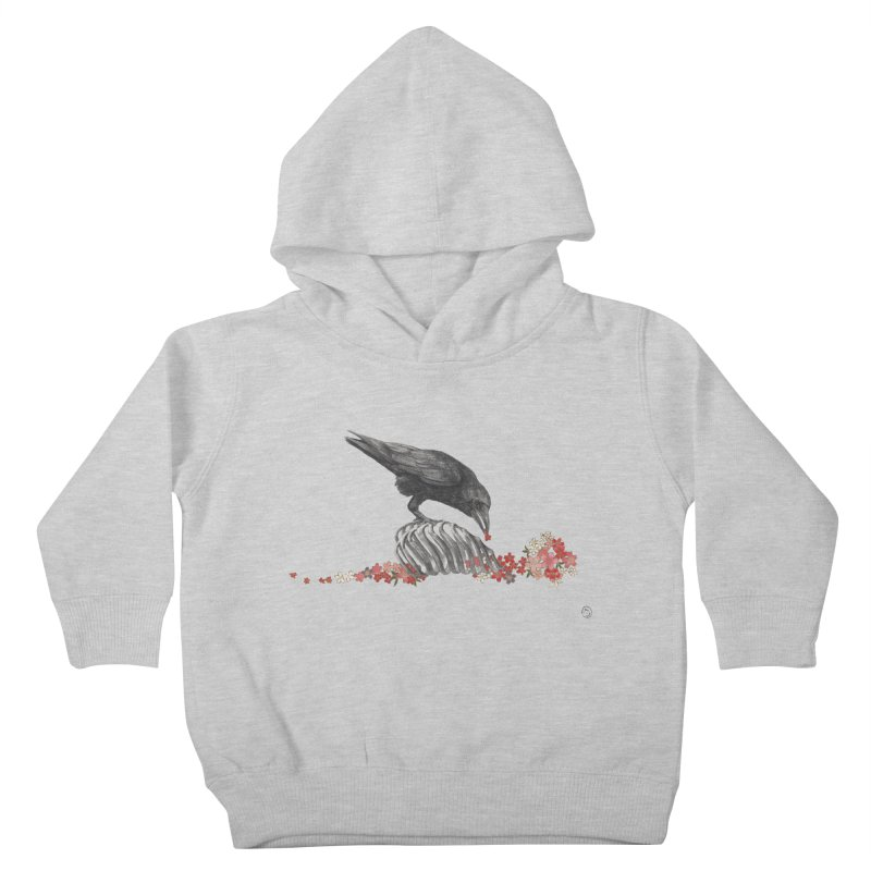 The Bloodflower Crossroads Kids Toddler Pullover Hoody by Stephanie Inagaki