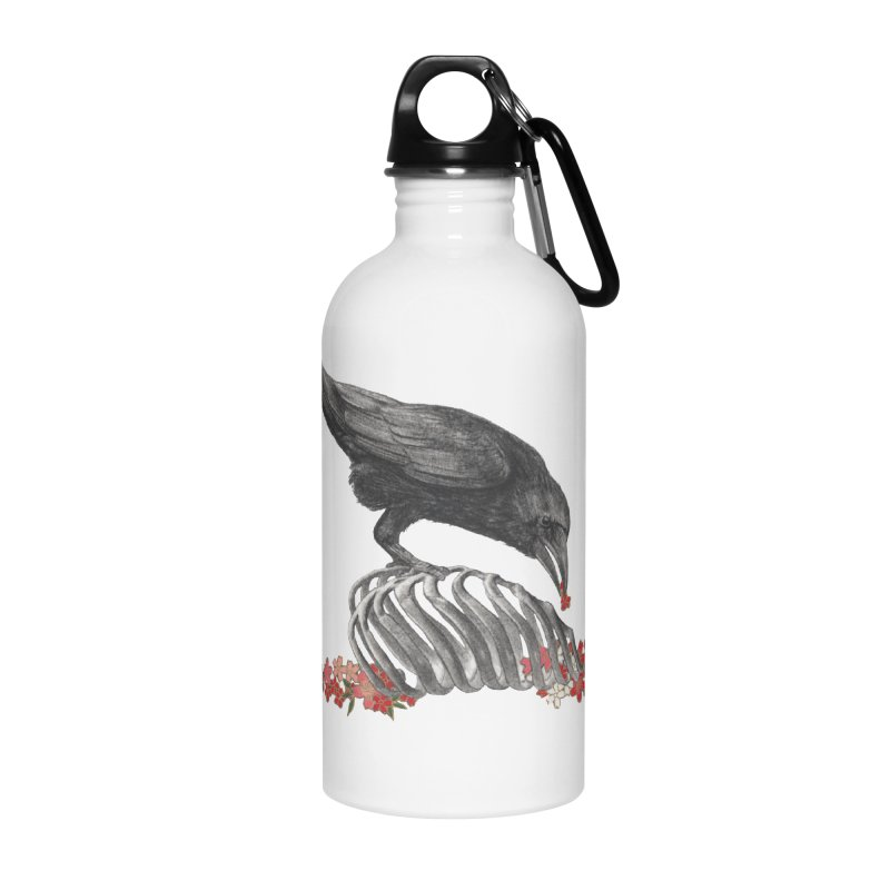 The Bloodflower Crossroads Accessories Water Bottle by Stephanie Inagaki