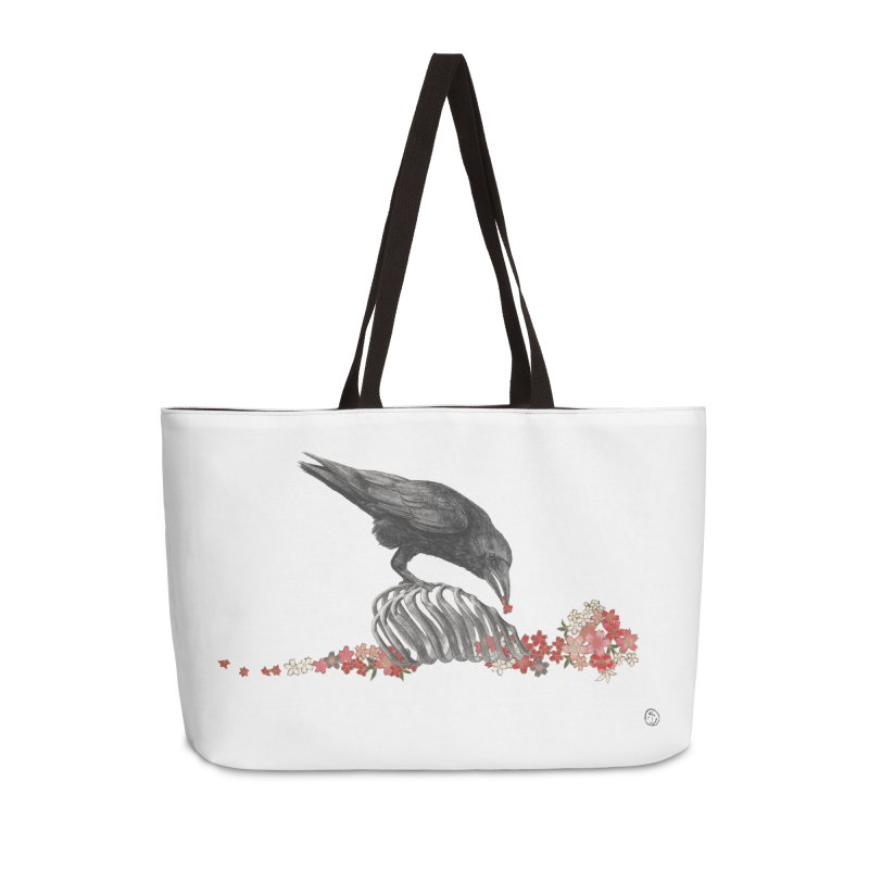 The Bloodflower Crossroads Accessories Weekender Bag Bag by Stephanie Inagaki