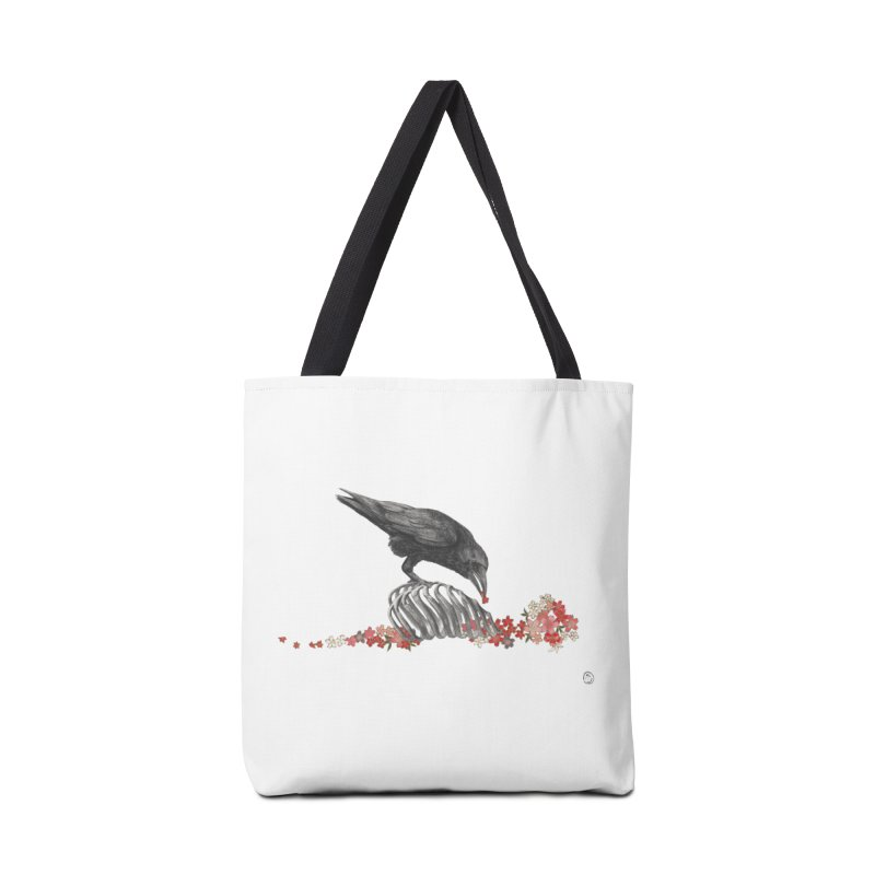 The Bloodflower Crossroads Accessories Tote Bag Bag by Stephanie Inagaki