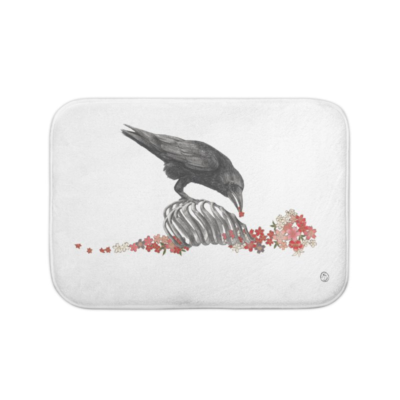 The Bloodflower Crossroads Home Bath Mat by Stephanie Inagaki