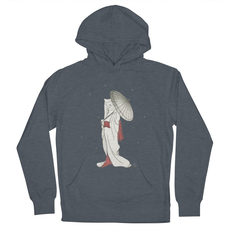 Yuki Hime  Women's French Terry Pullover Hoody by Stephanie Inagaki