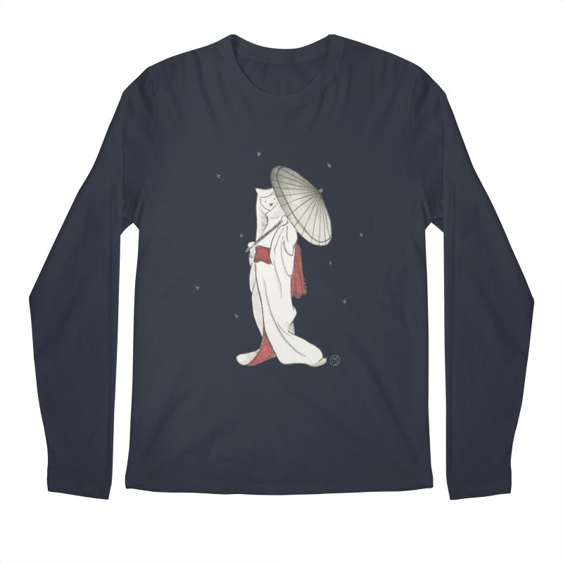 Yuki Hime  Men's Regular Longsleeve T-Shirt by Stephanie Inagaki
