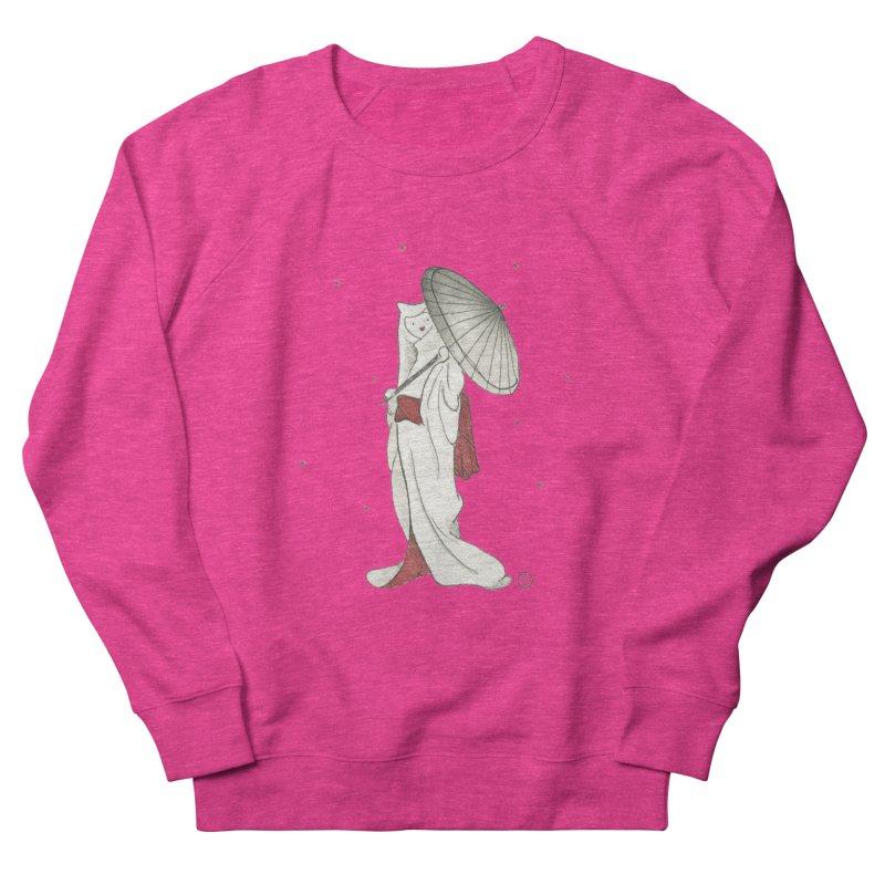Yuki Hime  Women's French Terry Sweatshirt by Stephanie Inagaki