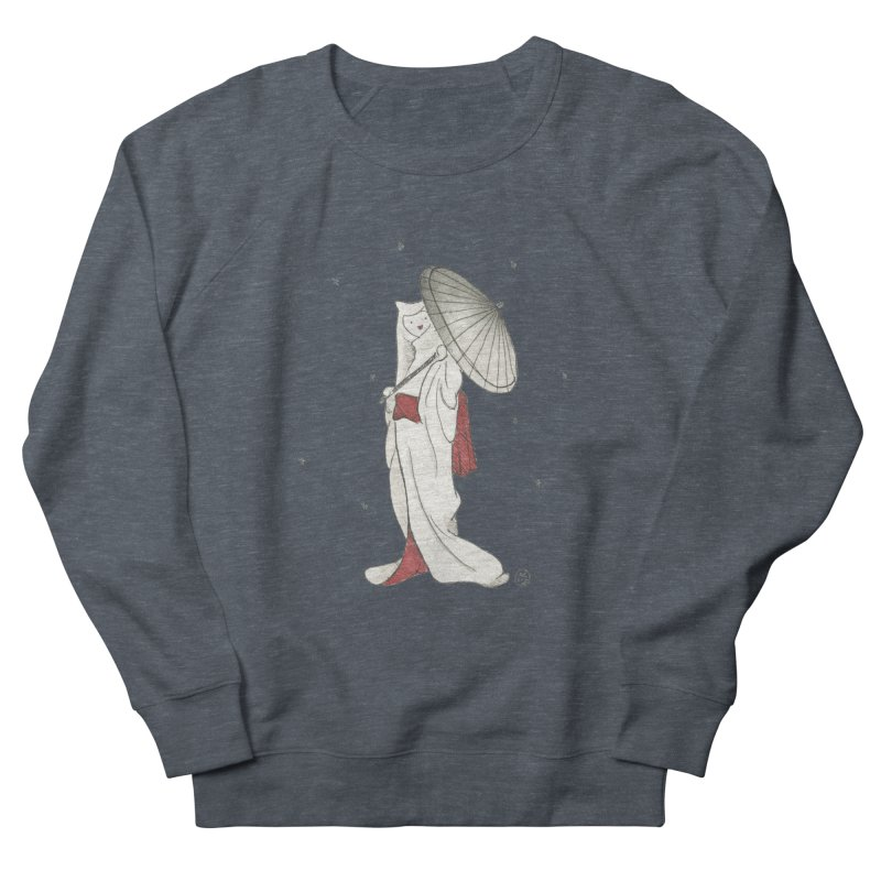 Yuki Hime  Men's French Terry Sweatshirt by Stephanie Inagaki