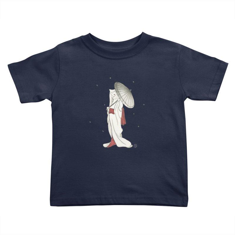 Yuki Hime  Kids Toddler T-Shirt by Stephanie Inagaki